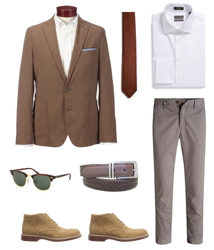 4 ways to wear the James Bond Linen Blazer