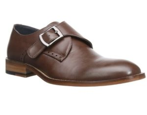 affordable James Bond brown monk strap shoes