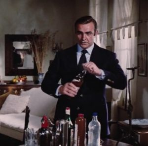 affordable Sean Connery James Bond Navy Blazer