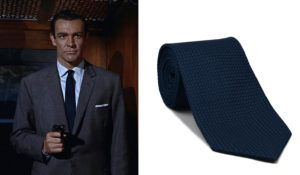 james bond grenadine tie