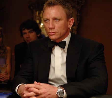 Daniel Craig James Bond Casino Royale Omega Seamaster Diver 300M