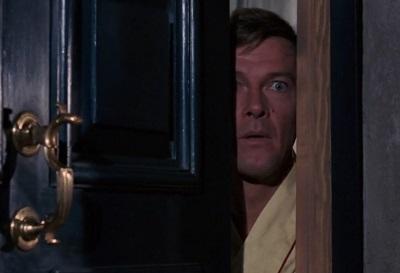 Roger Moore James Bond Live and Let Die