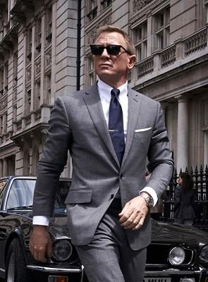 Daniel Craig James Bond Bond 25 London