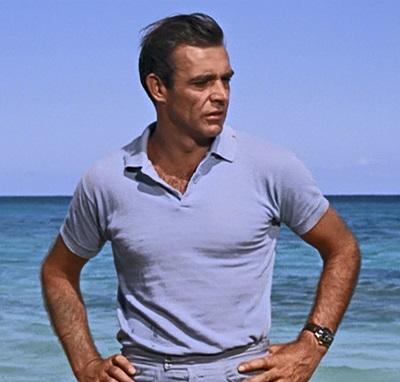 Sean Connery Dr. No Polo Shirt
