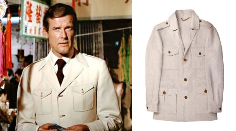 The James Bond Safari Jacket Iconic Alternatives