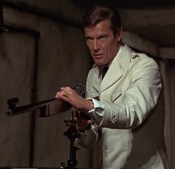 Roger Moore The Man With The Golden Gun Cream Leisure Suit Jacket