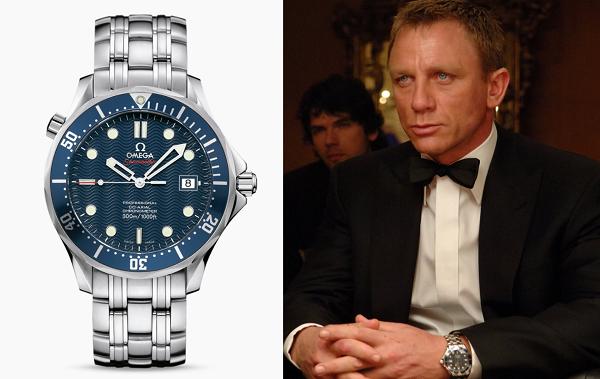 Daniel Craig Casino Royale Omega Seamaster