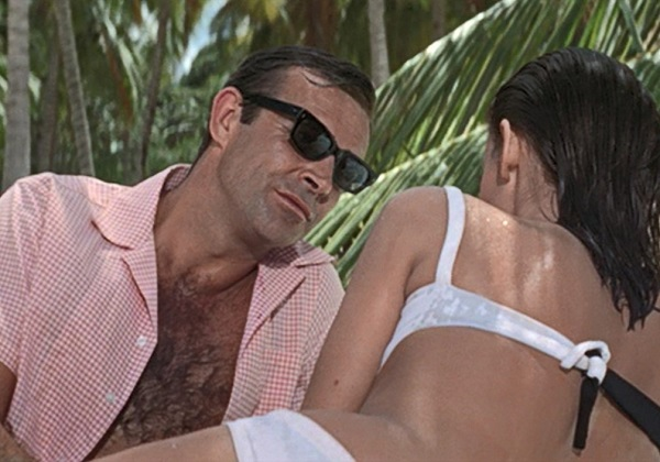 Sean Connery James Bond Thunderball sunglasses