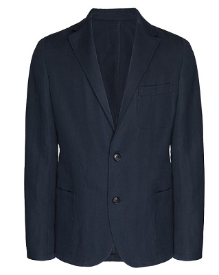budget James Bond navy blazer