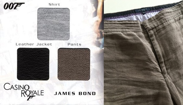 Casino Royale Ted Baker Linen Trousers