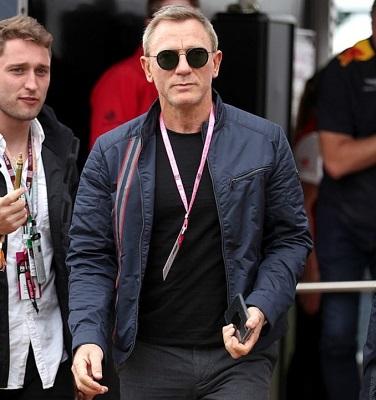 Daniel Craig Hackett London X Aston Martin British Grand Prix
