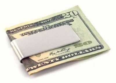 James Bond style money clip