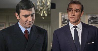 James Bond navy blazer