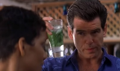 Pierce Brosnan Die Another Day Mojito