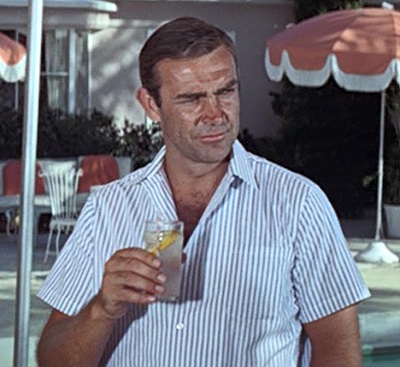 Sean Connery Thunderball James Bond Summer Drinks