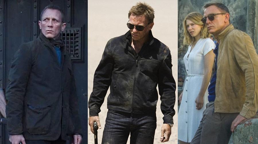 BEST QUALITY BIG SALE James Bond Harrington Quantum of Solace Jacket