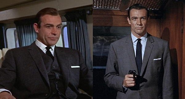 affordable James Bond wardrobe suit jackets