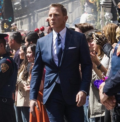Daniel Craig SPECTRE Mexico City