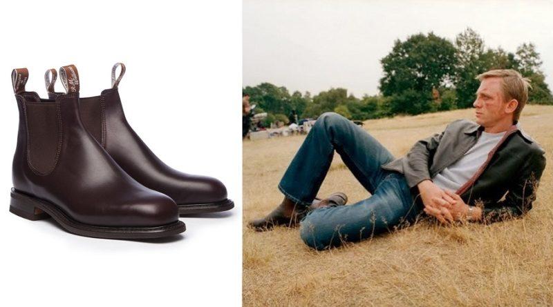 Daniel Craig Layer Cake Chelsea boots