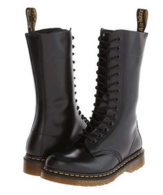 Dr. Marten 1914 black smooth
