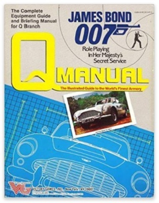 James Bond Victory Games RPG