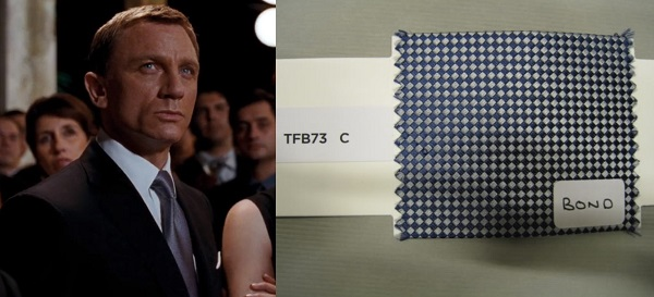 Daniel Craig Tom Ford Quantum of Solace Greene Party Tie