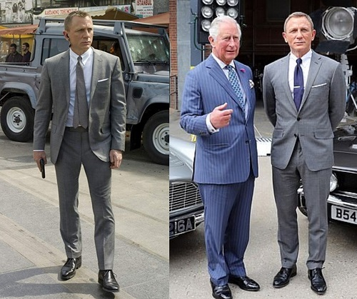 The James Bond suit trousers