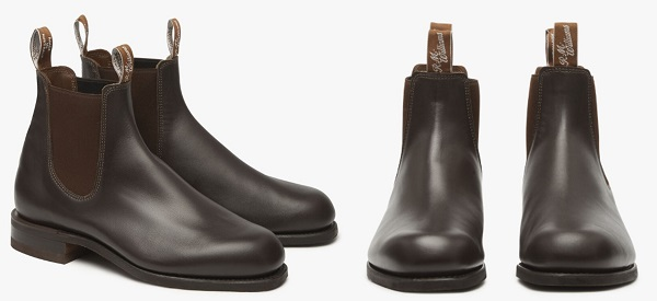 RM Williams Comfort Turnout Boot in Chestnut.