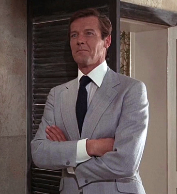 Roger Moore suit jacket