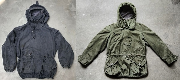 vintage military anoraks James Bond style