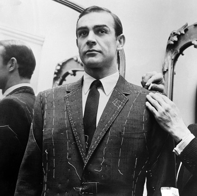 Sean Connery Anthony Sinclair tailored suit