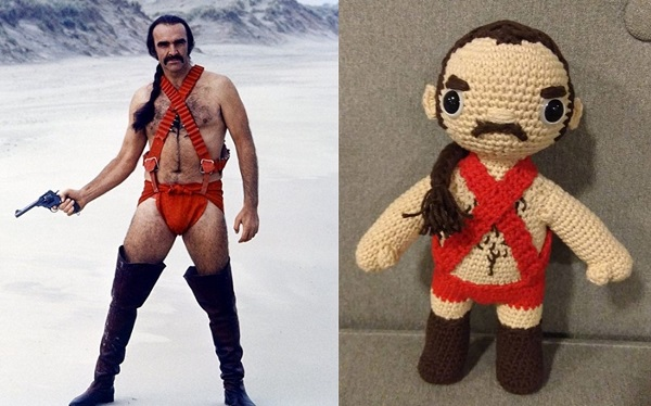 Sean Connery Zardoz collectible