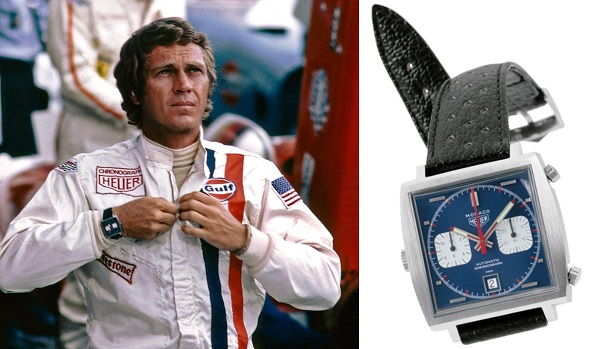 Steve McQueen Le Mans TAG Heuer Monaco