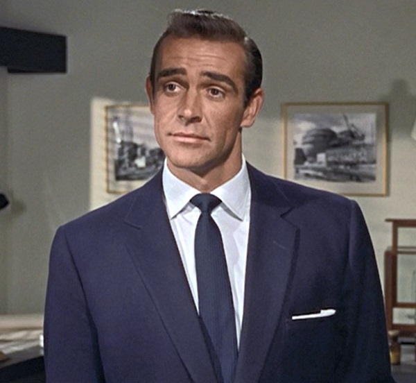 affordable Bond wardrobe blazer Sean Connery