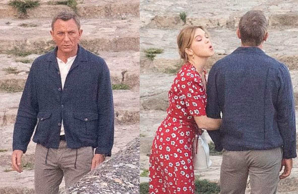 Daniel Craig James Bond Matera Italy