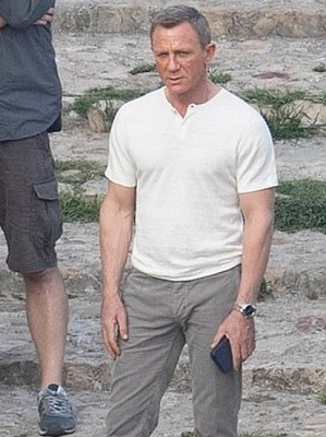 Daniel Craig James Bond No Time To Die Matera Henley