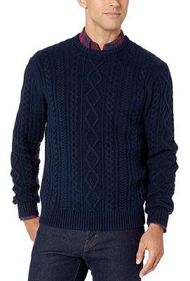 affordable alternative James Bond Aran Knit Sweater Goldeneye