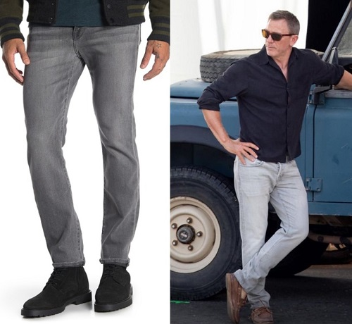 Frame Denim grey jeans No Time To Die James Bond Tom Ford alternatives