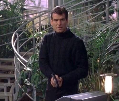 James Bond Pierce Brosnan Die Another Day turtleneck sweater