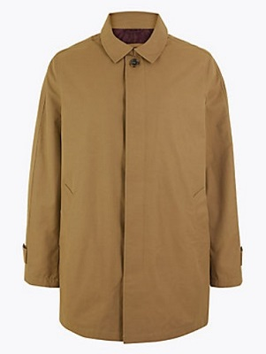 Don Draper Mad Men style rain coat