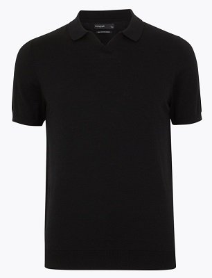 Don Draper Mad Men style polo shirt