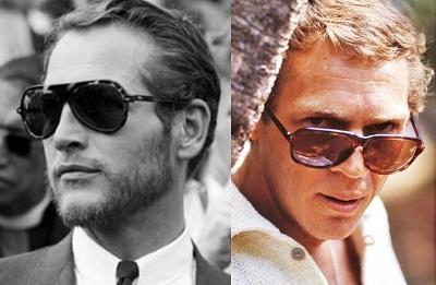 Paul Newman Steve McQueen Sunglasses