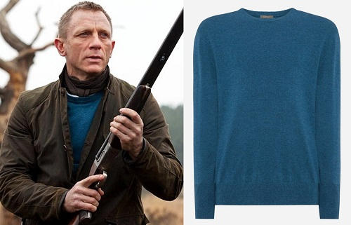 How to Care for Your Cashmere Sweater Daniel Craig James Bond NPeal Skyfall