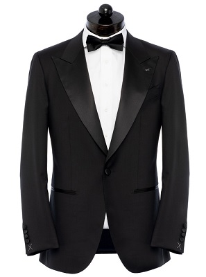 Don Draper Mad Men style tuxedo