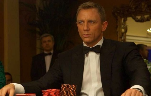 Daniel Craig James Bond Casino Royale Tuxedo