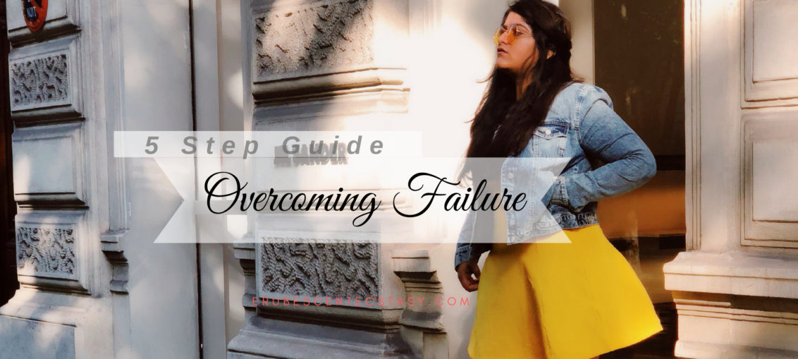 5-step guide to overcome failure