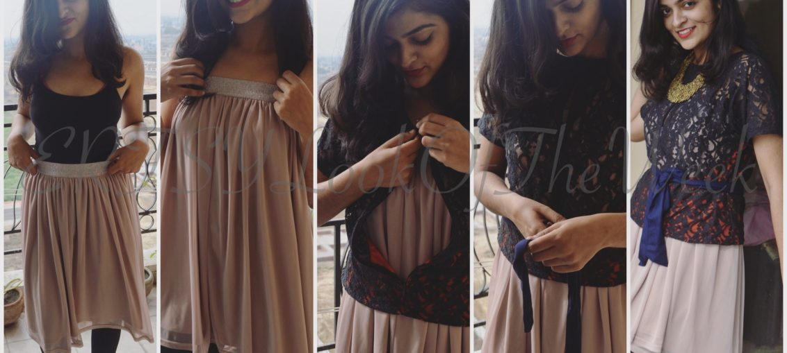 DIY Pre-plum Elegant Dress