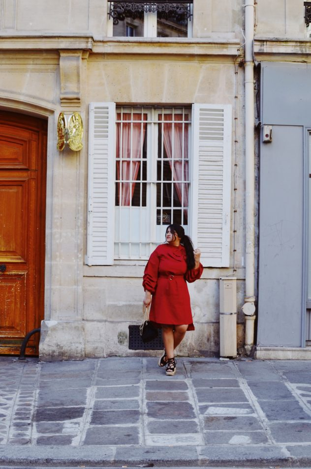 Day to Soiree StreetStyle: High Fashion Dress