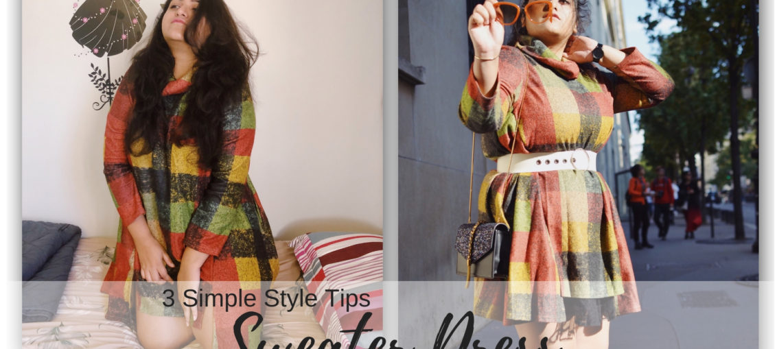 3 Simple Style Tips: Sweater Dress