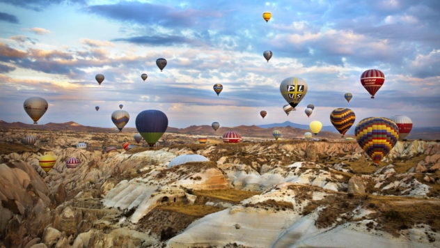 Cappadocia-hot-air-balloon 2019 Travel Style